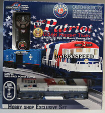 LIONEL THE PATRIOT U36B DIESEL LIONCHIEF FREIGHT TRAIN SET o gauge 6-82427 NEW