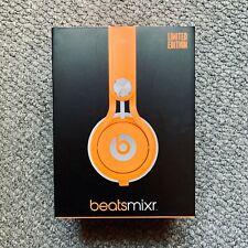 LIMITED EDITION Beats by Dr. Dre Mixr Headband Headphones - Orange