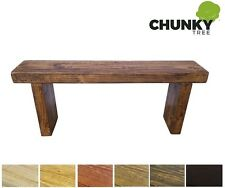 GARDEN BENCH STOOL | KITCHEN BEDROOM HALLWAY | 9X3 RUSTIC WOODEN PINE.