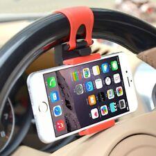Car Steering Wheel Clamp Bracket Phone Holder Cradle GPS iPhone fit VW BMW
