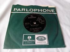 """The Beatles All You Need Is Love 7"""" Single NM Vinyl Record R 5620 2nd Press"""