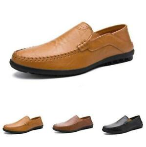 Men Pumps Hollow out Breathable Slip on Loafers Flats Driving Moccasins Shoes