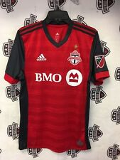 Toronto FC 2018 Home Red Authentic On Field Jersey Champions Gold Star Medium