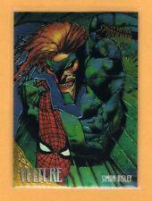 1995 Fleer Ultra Spiderman Golden Web #9 Vulture Simon Bisley