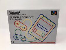 Authentic Super Famicom Classic Mini Console Japanese SNES System Grey New NIB