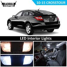 White Interior LED Light Accessories Package Kit fits 2010-2015 Honda Crosstour