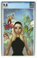 Gwen Stacy #1 CGC 9.8 Graded Exclusive J Scott Campbell Virgin Variant Pre Order