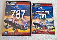 Fliegen die Boeing 787 Dreamliner-Windows PC-Komplett-FSX & FS2005 Flight Sim
