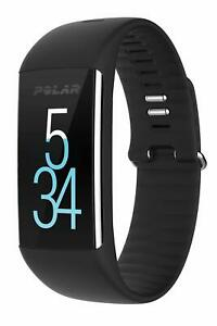 Polar A360 Fitness Tracker with Wrist Heart Rate Monitor - Medium, Black