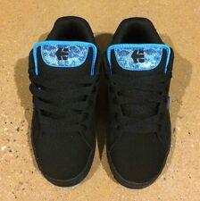 Etnies Fader Womans Size 5 Black Turquoise Skate BMX Shoes