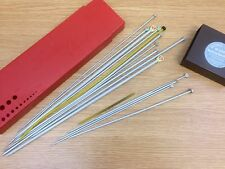 Vintage Scovill Dritz Knitting Needle Box and Selection of Knitting Needles