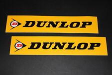 Dunlop Reifen Tire Pneu Aufkelber Sticker Decal Autocollant Logo Schriftzug Sign