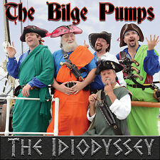The Bilge Pumps The Idiodyssey CD, pirate music, sea shanties, Celtic songs