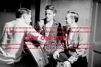 1956 ELVIS PRESLEY Dayton Ohio PHOTO The King smiling Backstage between shows