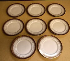 Set Of 8 Porcelain Plates - B&Co L. Bernardaud Limoges For Higgins & Seiter NY