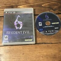 Resident Evil 6 (Sony PlayStation 3, 2012)- Complete