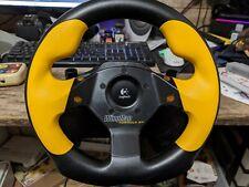 Logitech Wingman Formula GP Lenkrad und Pedale