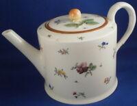 Antik 18thC Royal Vienna Porzellan Blumenmuster Teekanne Kanne Wien