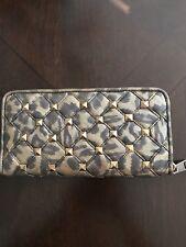 Bebe Chelsea Quilted Studded Zip-Around Wallet