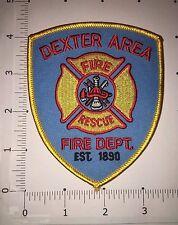 Dexter Area Fire Dept Patch - Fire / Rescue - Michigan