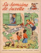 SEMAINE DE SUZETTE N°26 - .29.05.1952 - Gautier-Languereau -  CALVO
