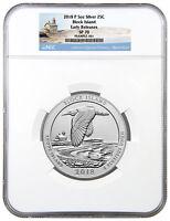 2018-P Block Island 5 oz Silver ATB Beautiful Specimen Coin NGC SP70 ER SKU51772