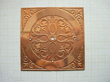 Ebauche cadran cuivre de pendulette dial Uhr,pendule clock mm  Zifferblatt