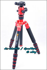 MeFoto RoadTrip A1350Q1 Aluminium Tripod Monopod Kit RED * EXPRESS SHIP