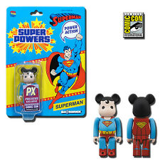 Be@rbrick 100% DC Super Powers Superman 2013 SDCC Exclusive - Medicom Toys