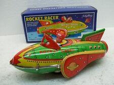 MES-23456   Schylling Neuzeitlicher Rocket Racer mit Friktionsantrieb L:ca.19cm
