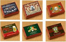 CIGAR BOX HUMIDOR CHERRY WOOD! PERSONALIZED, MANY DESIGNS TO CHOOSE FROM!