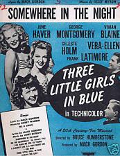 1946 - Three Little Girls in Blue - Somewhere in Night