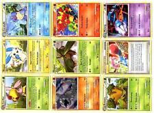 Lot 50 Cartes POKEMON Différentes DECHAINEMENT HGSS2 + KDO