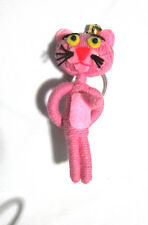Pink panter  Voodoo String Doll Keychain Ornament Accessory (Thai handmade)