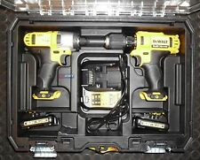 DeWALT DCK211C2T DCK211 10,8V-Set DCD710 + DCF815 Akku-Schrauber DCD 710 DCF 815