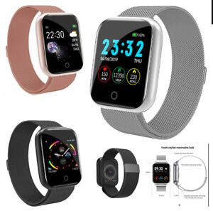 Waterproof Smart Watch Heart Rate Bracelet Women Men For iPhone Android Samsung