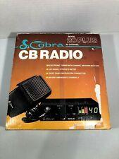 COBRA MODEL 20 PLUS - 40 CHANNEL CB RADIO VINTAGE ~ NEW in ORIGINAL BOX