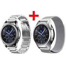 Für Samsung Gear S3 Frontier/Classic Armband Edelstahl Metall Band UhrBand