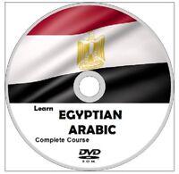 Learn  EGYPTIAN ARABIC COMPLETE LANGUAGE COURSE CD MP3 AUDIO PDF TEXTBOOKS