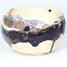 "Art sculpture / Tea bowl ""Ming"" 11 cm unique piece Andreas Loeschner-Gornau"