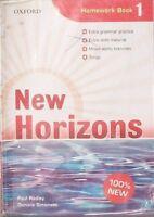 New Horizons con 2 CD Homework book 1 Oxford Paul Radley Daniela Simonetti