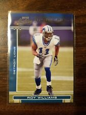 Roy Williams (Lions) 2006 Absolute Memorabilia Spectrum Silver (only 100 made)