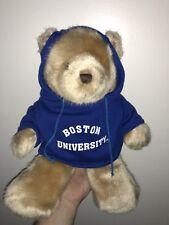 BOSTON UNIVERSITY PLUSH TEDDY BEAR COLLEGE STUDENT GRADUATION GIFT MA CUTE