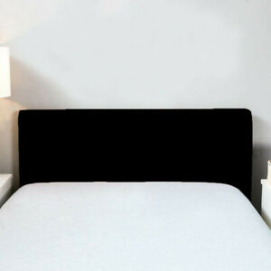 Solid Bed Headboard Cover Slip Cover Protector Decoration Stretch Cover New