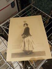 Original Julian Eltinge America'S First Female Impersonator Photo In Drag