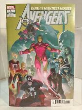 Avengers #1 - Ribic Variant (2018) 9.0 VF/NM Aaron/McGuinness