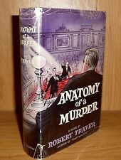 ANATOMY OF A MURDER by Robert Traver SCARCE TRUE HB 1st PRINTING! Basis of Movie