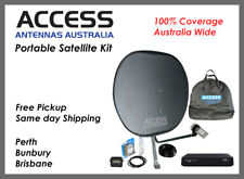 Ultimate Caravan Satellite TV Kit for 100% coverage Australia-wide- Same Day Sh