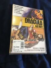 NEW RARE OOP CHRISTOPHER LEE PETER CUSHING DRACULA A.D. 1972 CULT HORROR DVD