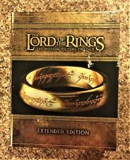 New ListingThe Lord Of The Rings : The Motion Picture Trilogy Blu-Ray Extended Editions Box